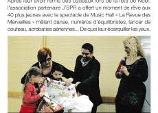lettre info de la fondation La Vie au grand air N° 62 de janvier février 2015